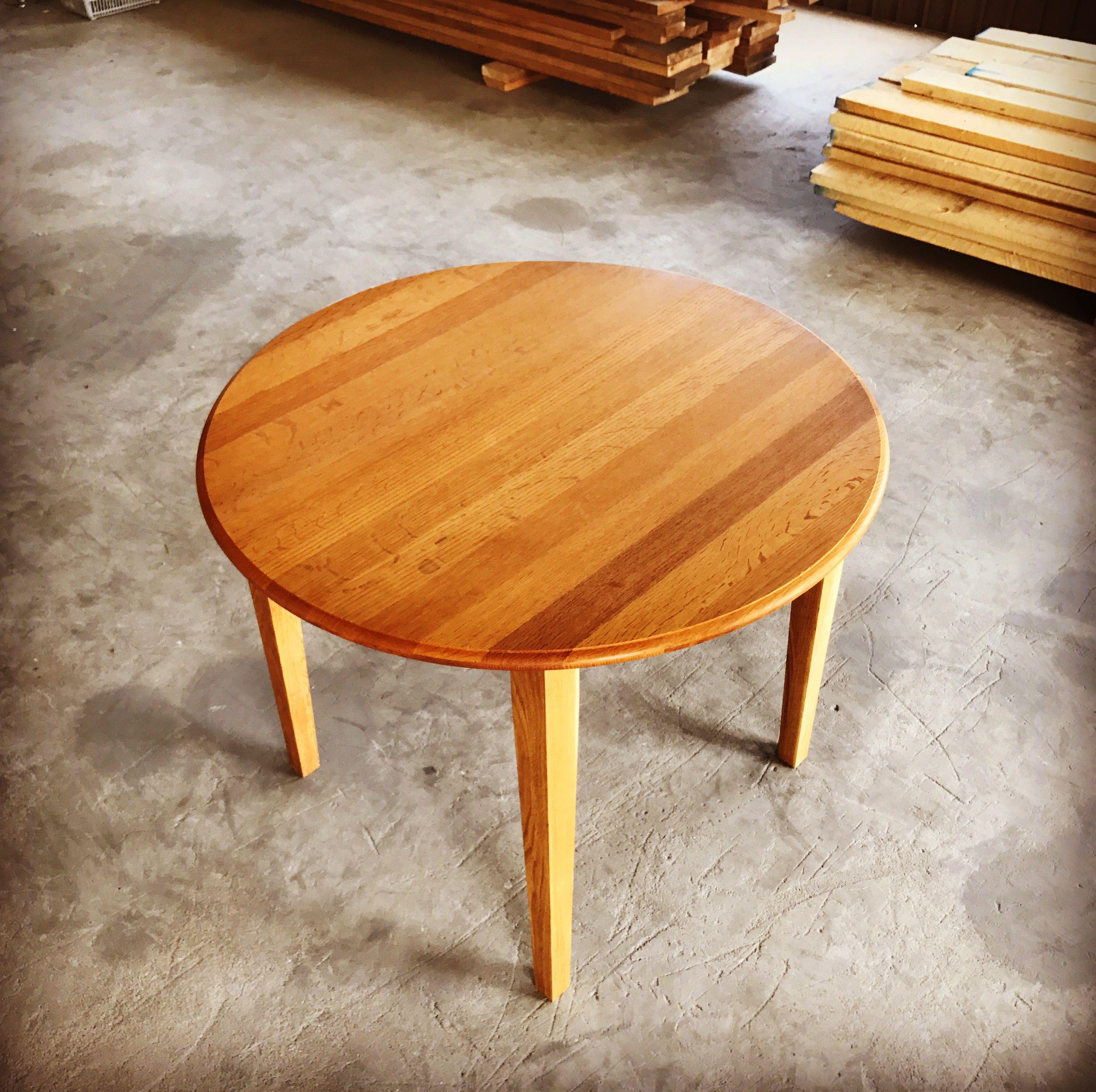 座卓をダイニングテーブルにリメイク
