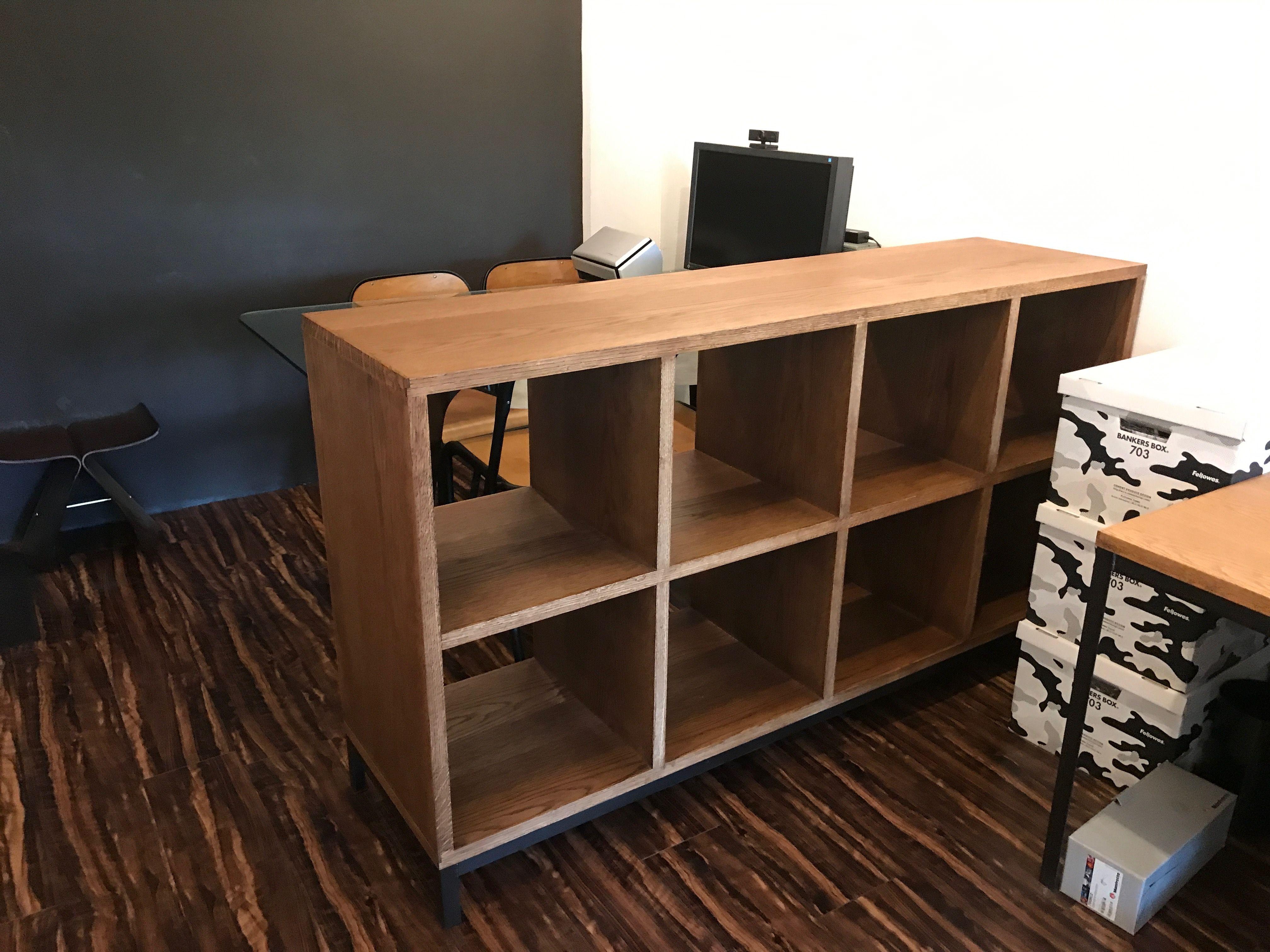 ターンテーブル兼レコード棚