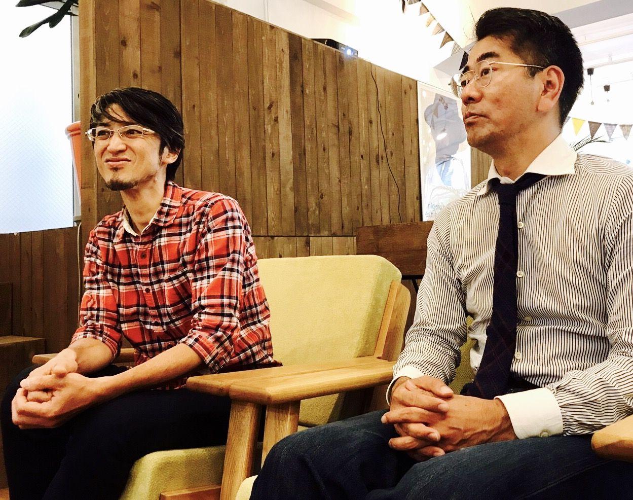 有限会社AMR代表の近藤さんと高橋さん