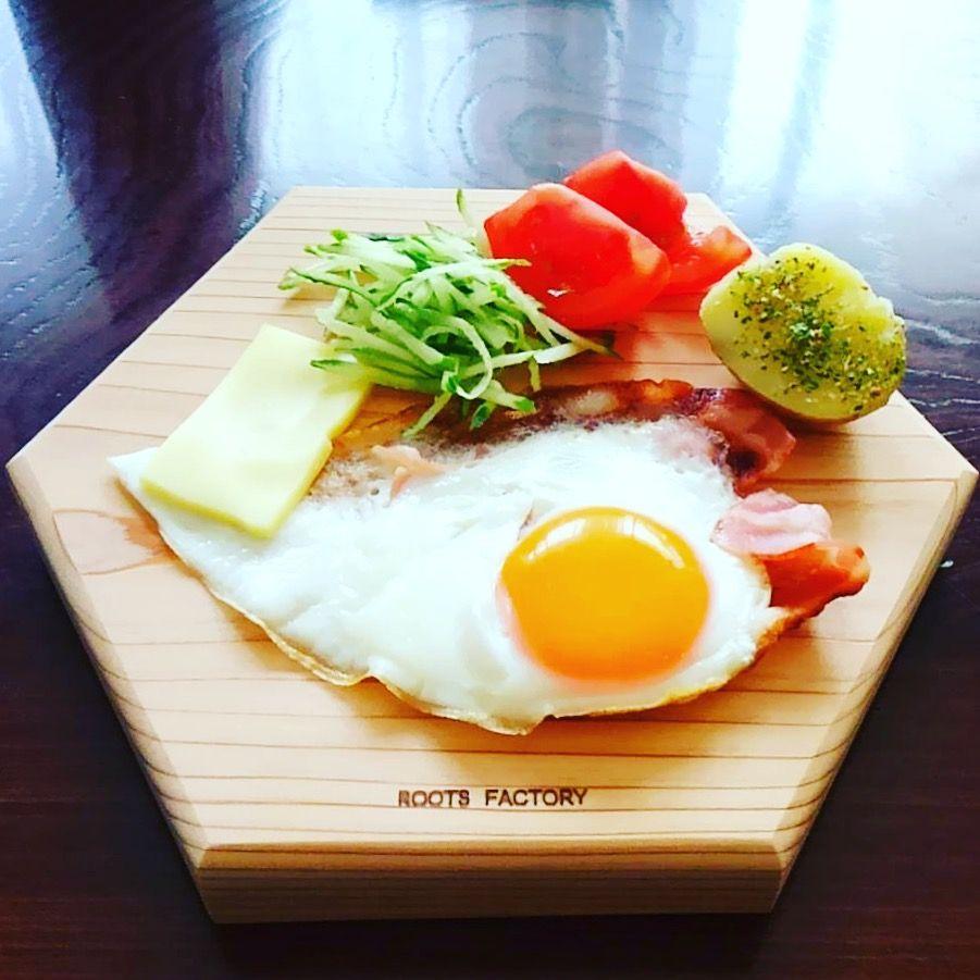 六角太郎で朝ごはん