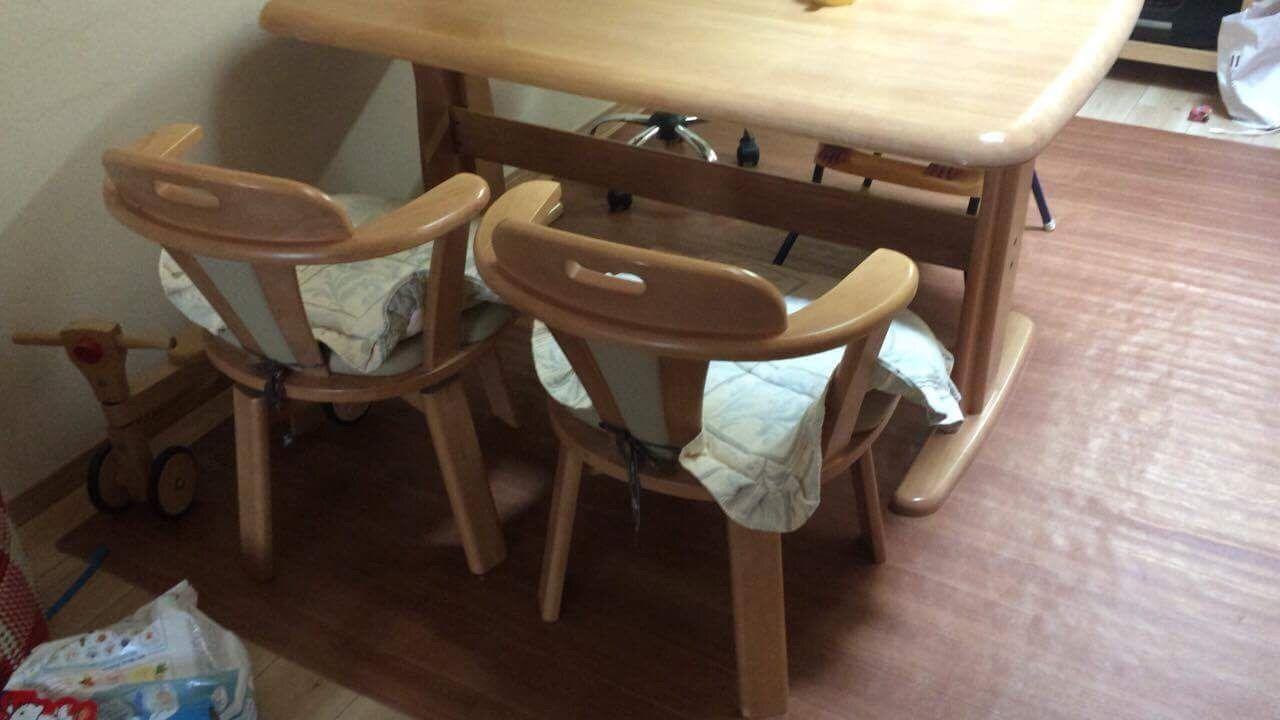 リメイクをご依頼いただいた椅子の元の状態