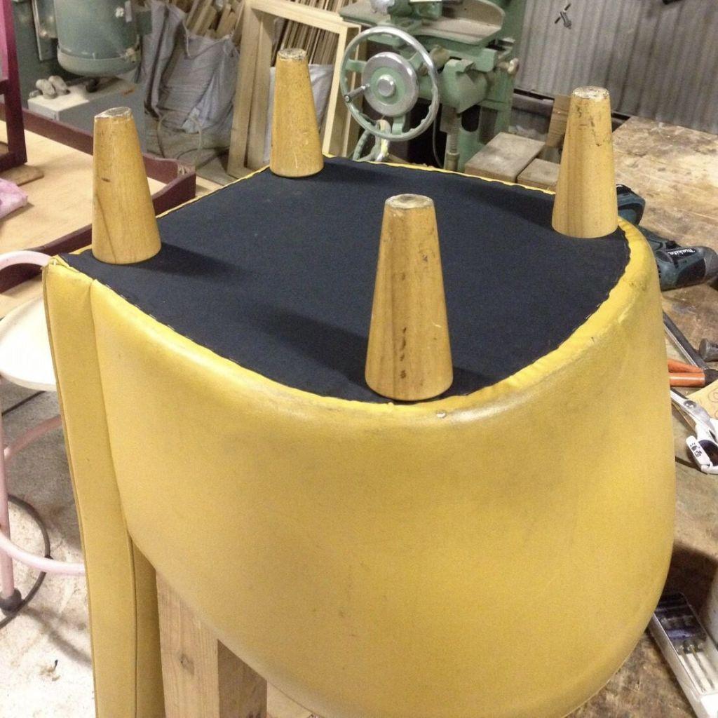 椅子修理完成写真