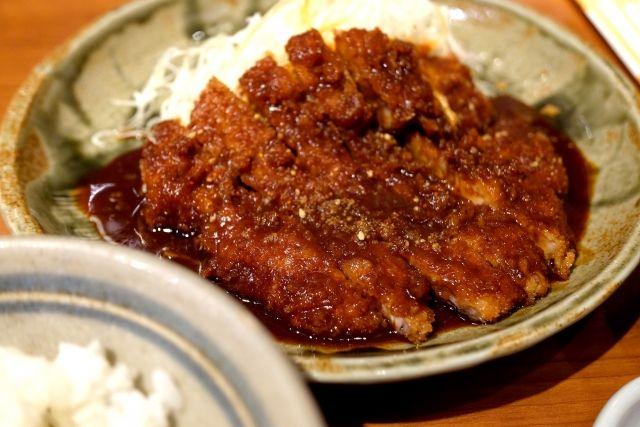 名古屋といえば味噌カツ