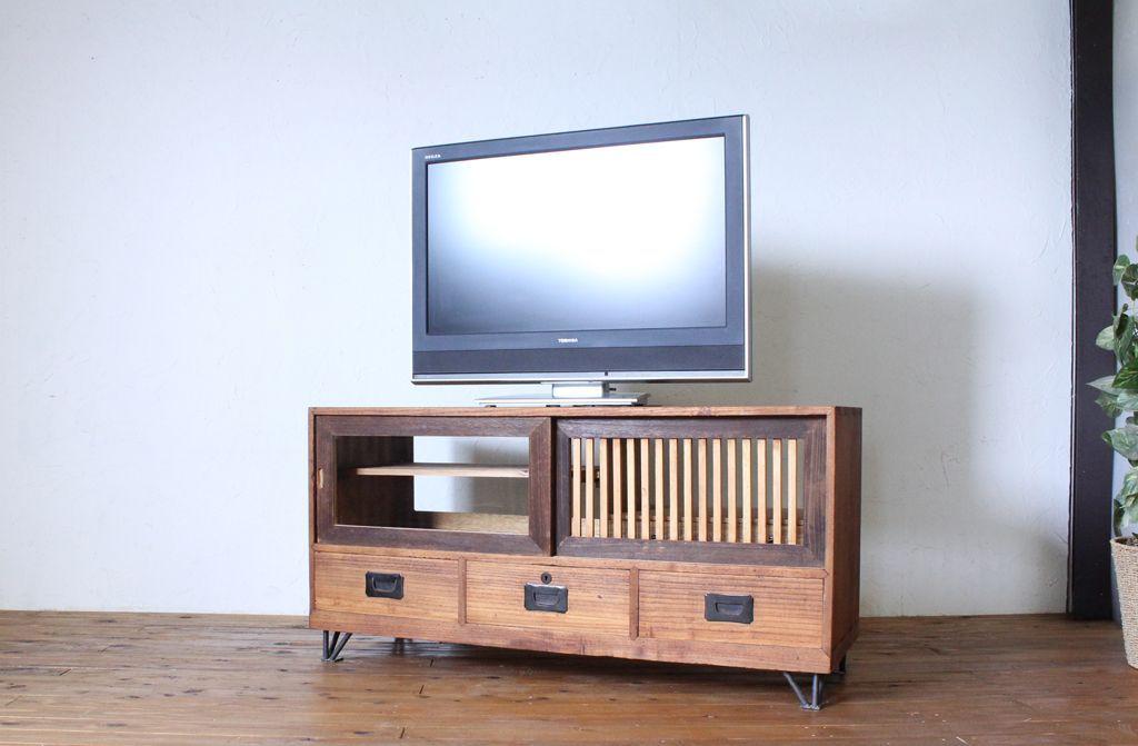 RELEBEテレビボード鉄脚