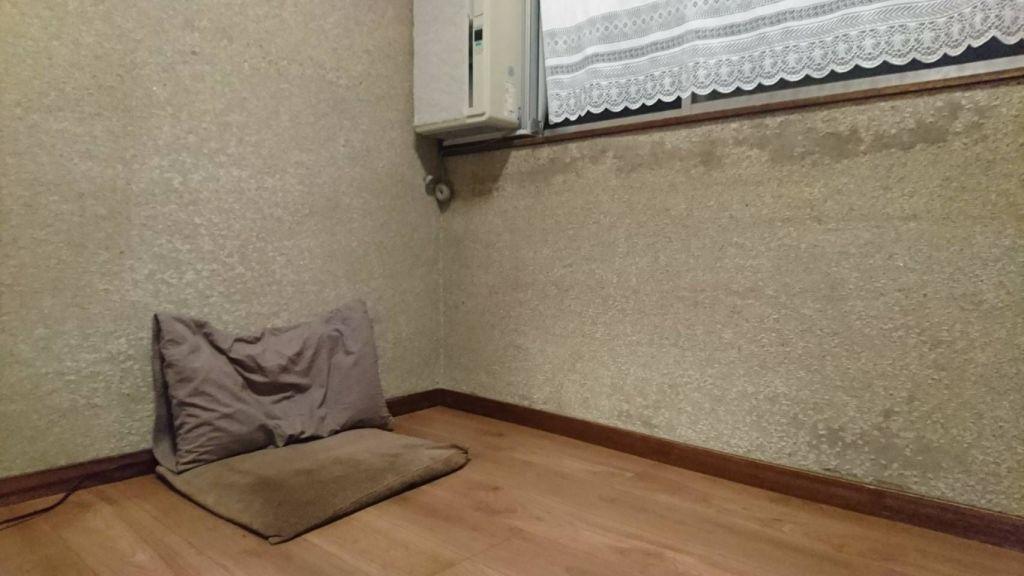 繊維壁だったお客さまのお部屋