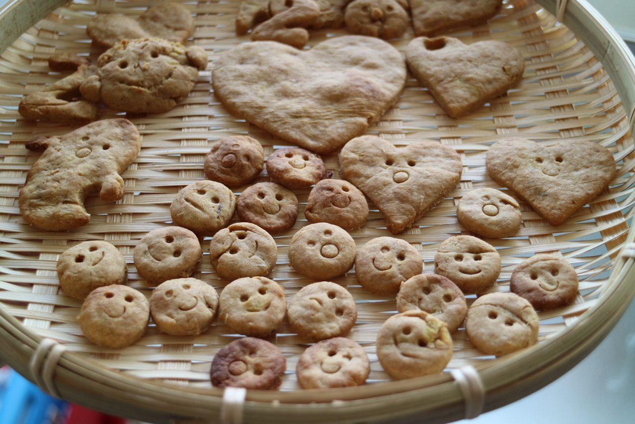 2歳児 卵不使用クッキー