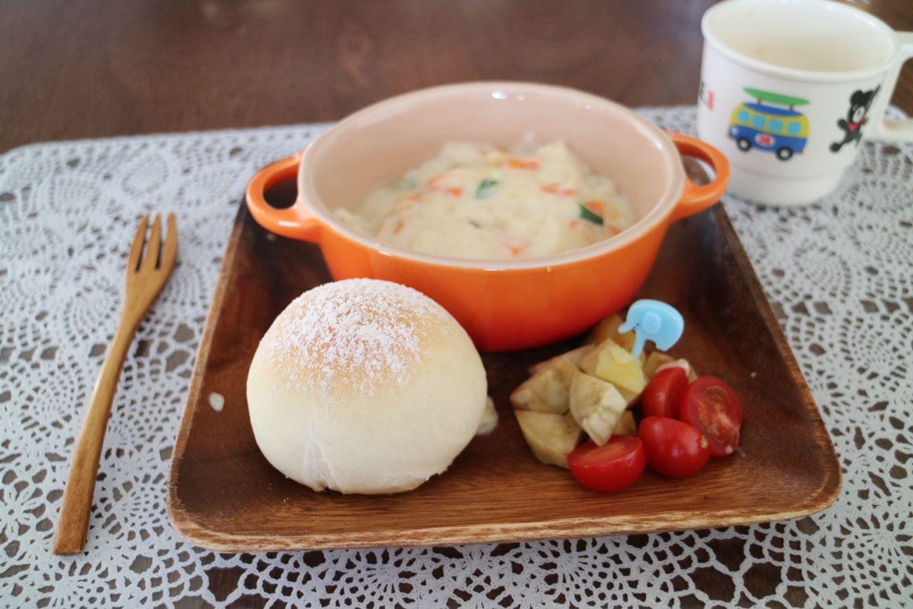 幼児食 手作りパン