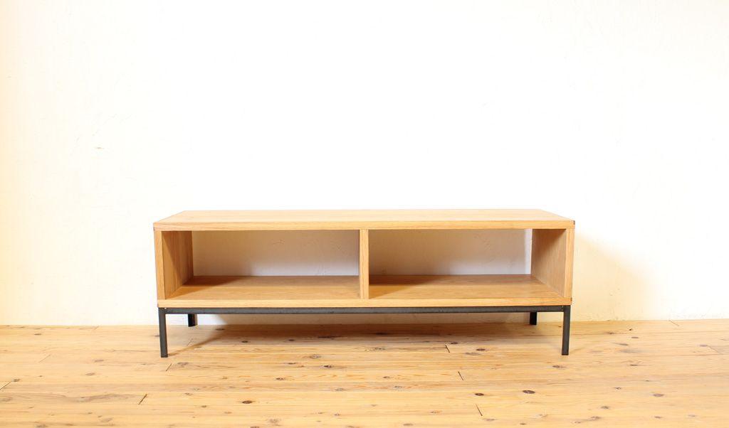 アイアン脚の木製テレビボード FJ‐TBD