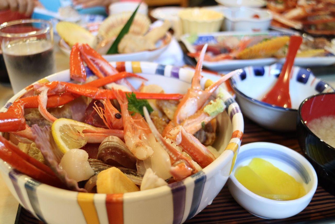 境港 味処まつやの海鮮丼