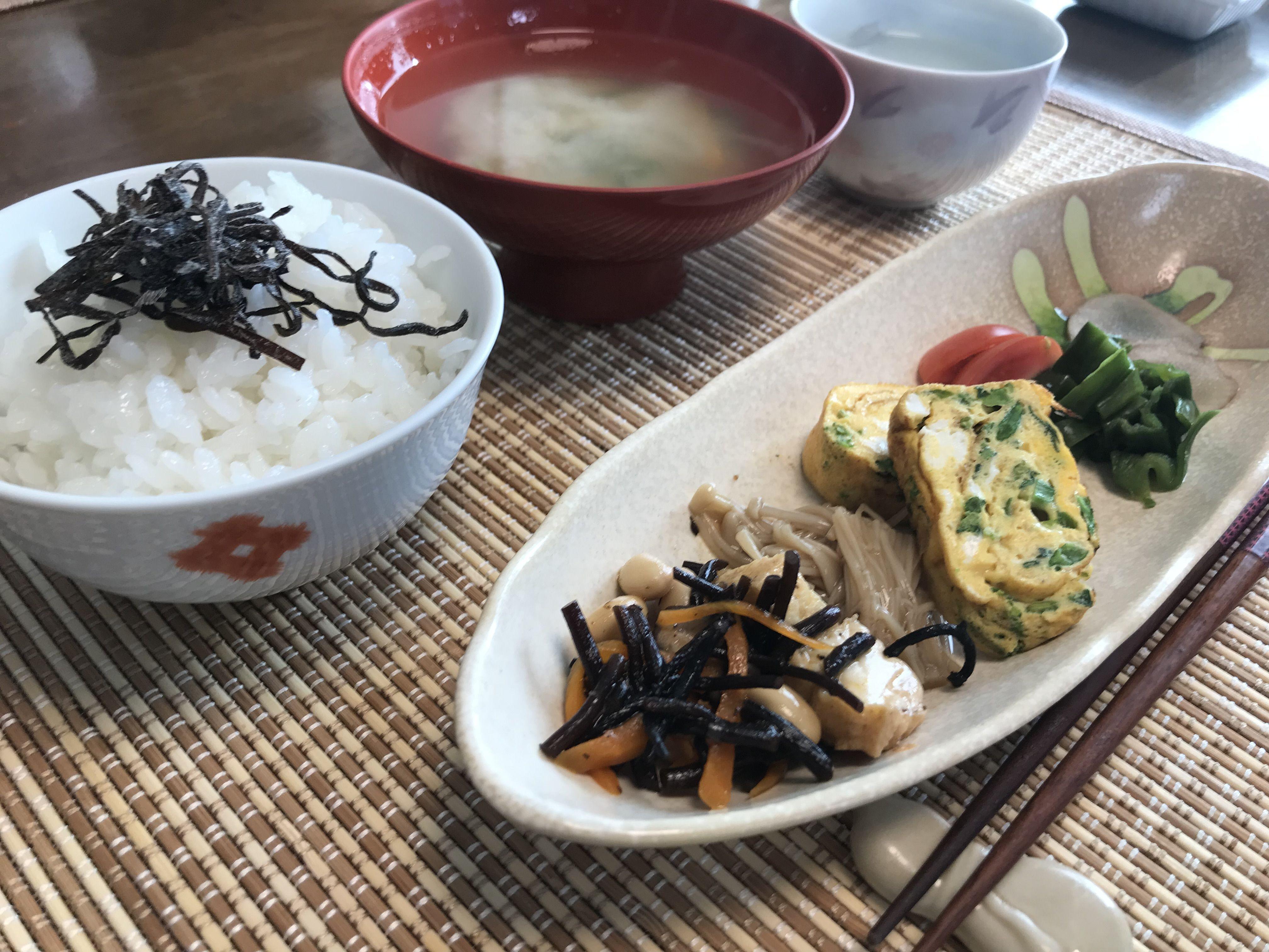 子どもと作る和朝食