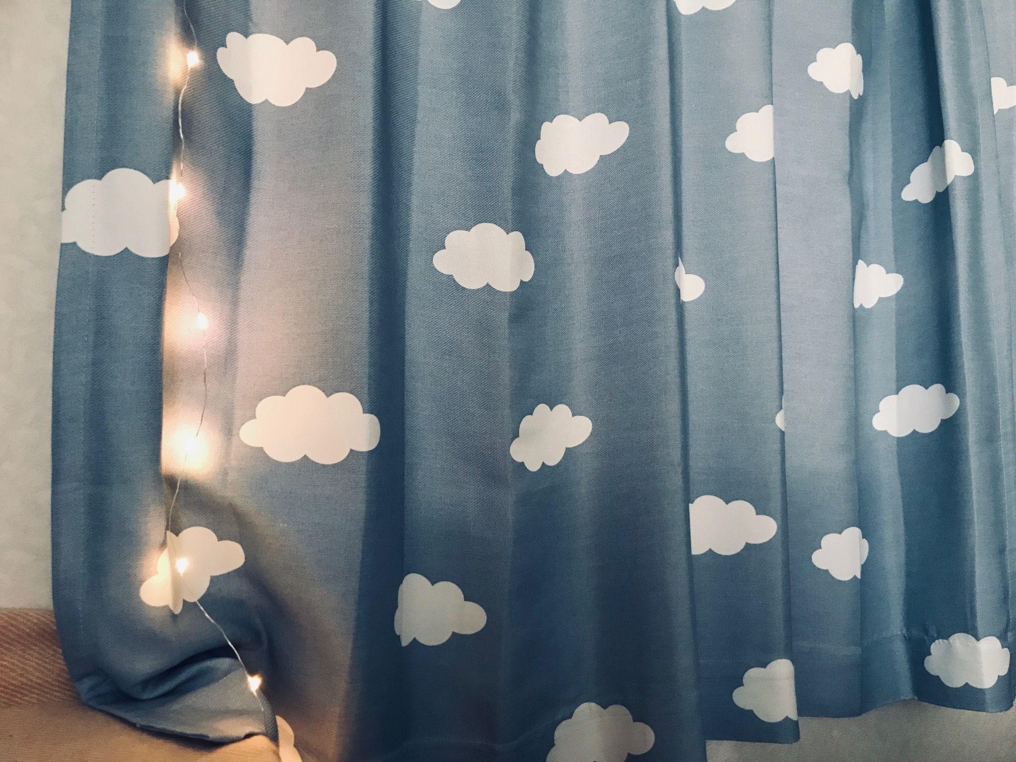 DAISOのLEDライトで寝室をムーディーに