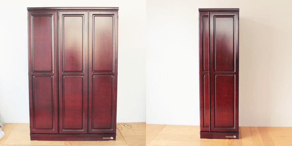 婚礼タンスをシングル扉ロッカーに 家具リメイク事例:R200 Before&After