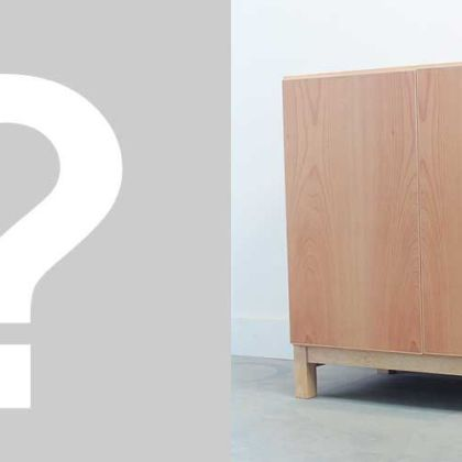 洋服タンスの部材を内部材に使用しキャビネットにリメイク 家具リメイク事例:R041 Before&After