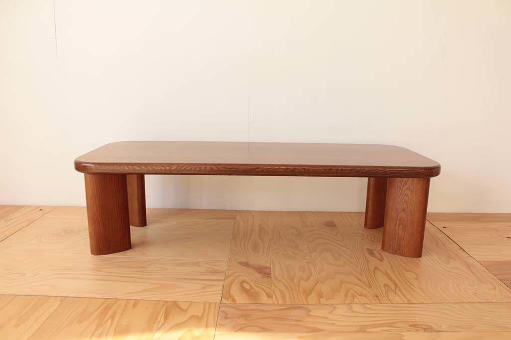 元の面影をとどめつつ、コンパクトでかわいらしい座卓へリメイク(after)