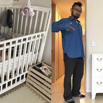 ベビーベッドをフレンチな脚付きミニチェストへとリメイク 家具リメイク事例:R049 Before&After