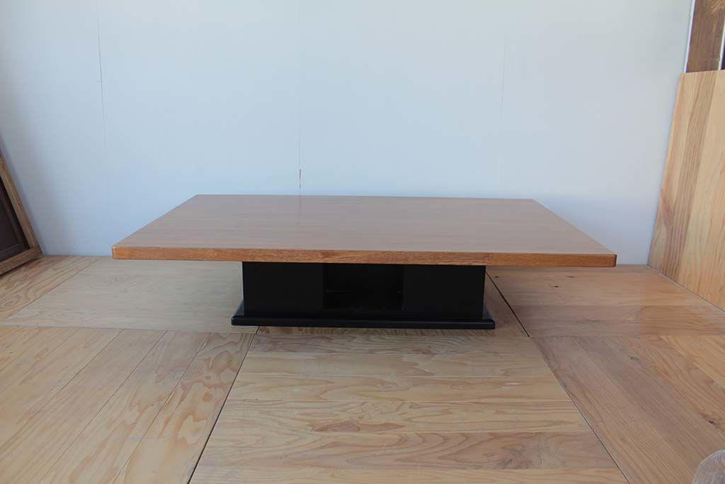 座卓の天板をリサイズ&高さ変更してダイニングテーブルにリメイク(before)