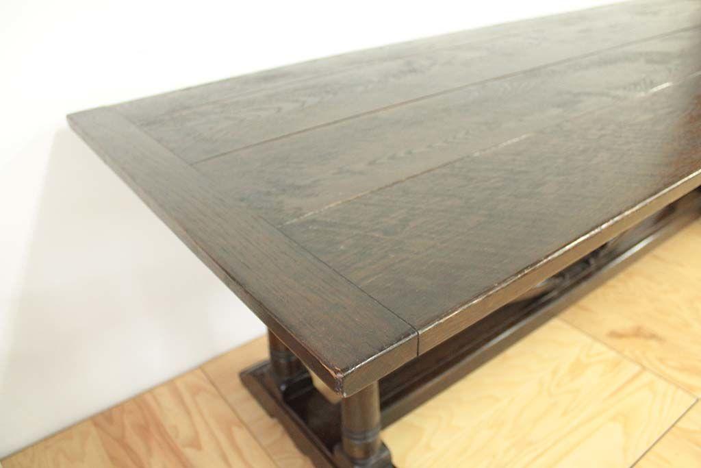 オランダ家具のダイニングテーブルをリサイズ&塗装を変更(before)