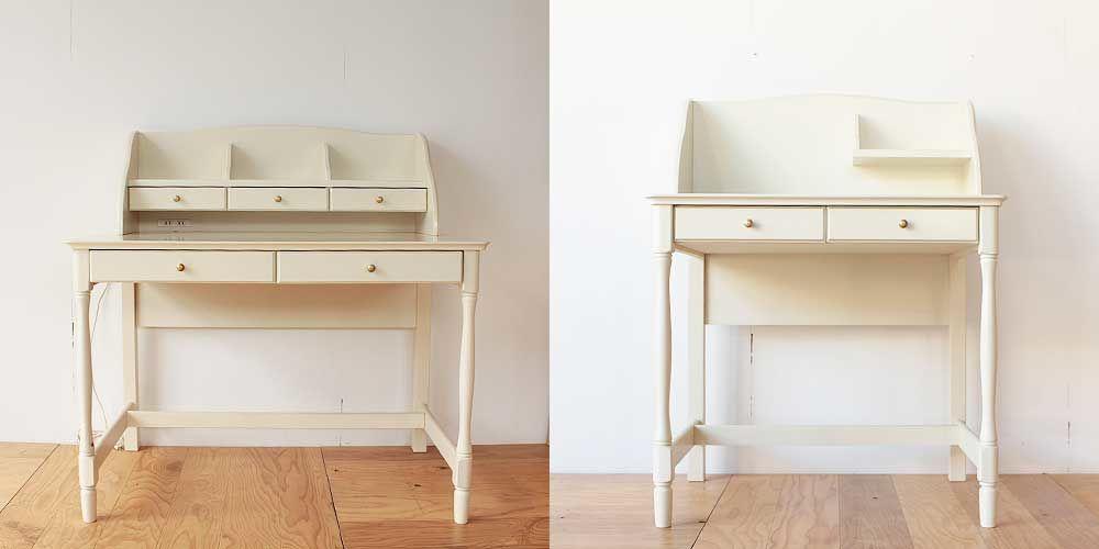 学習机をお引越し先のスペースに合わせてリサイズ 家具リメイク事例:R169 Before&After
