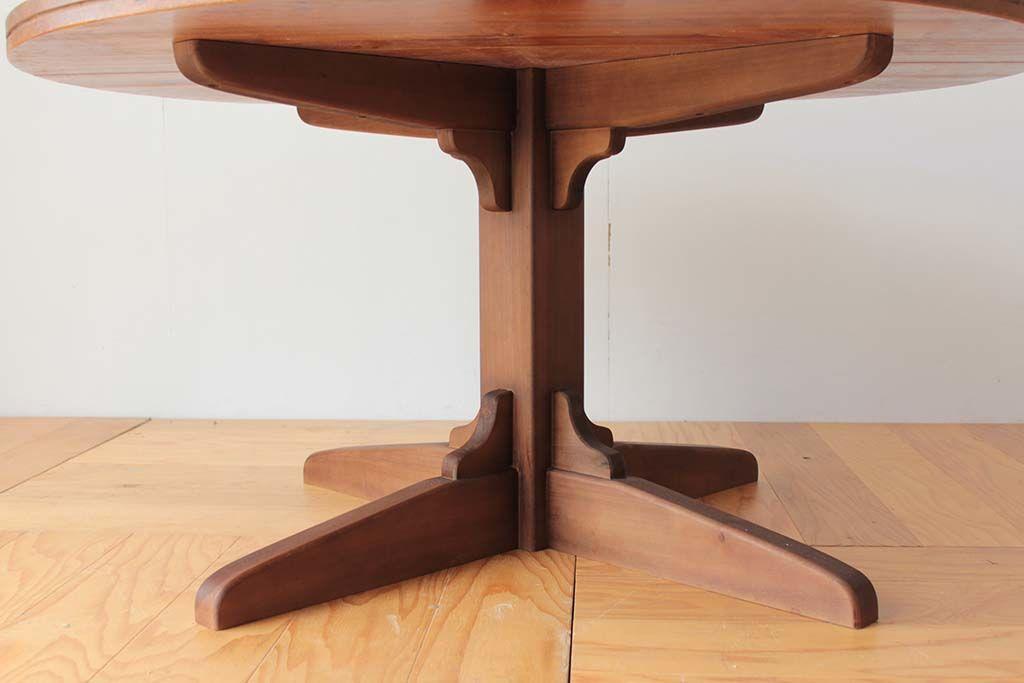 シャビーシックなアンティーク調のテーブル脚