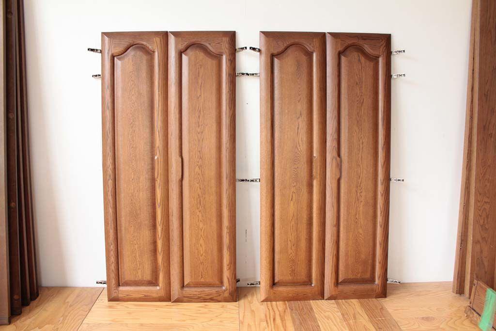 リメイク前の鏡がついていた大きなクローゼット扉