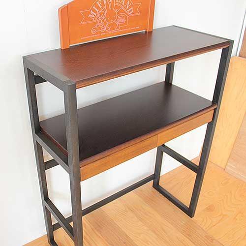 学習机を使ってキッチンラックにリメイク