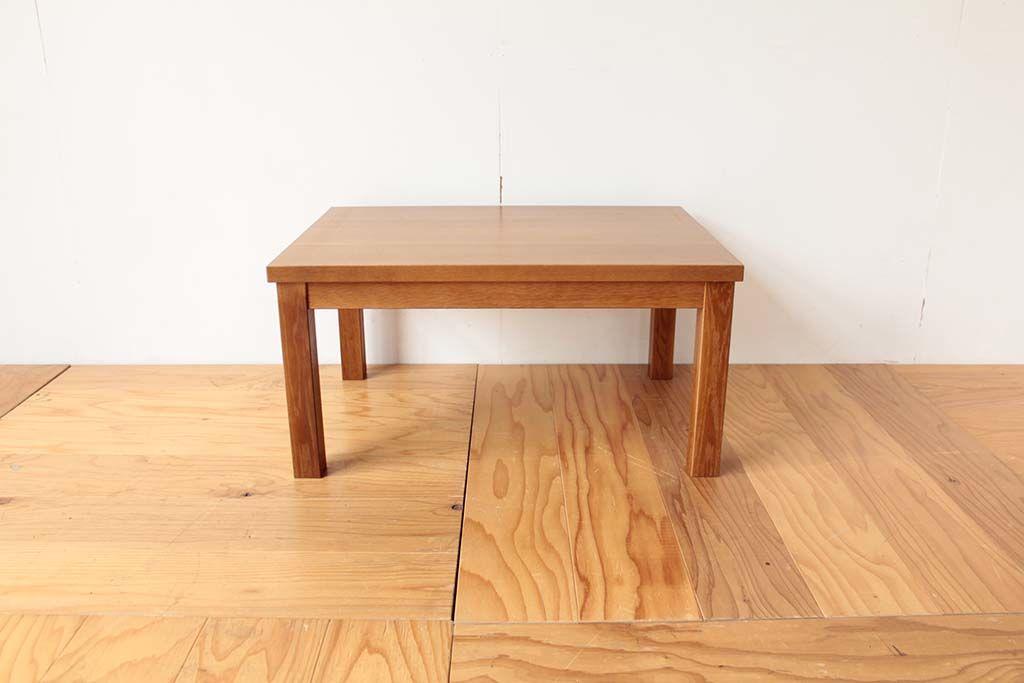 学習机の天板を使ってリメイクした座卓