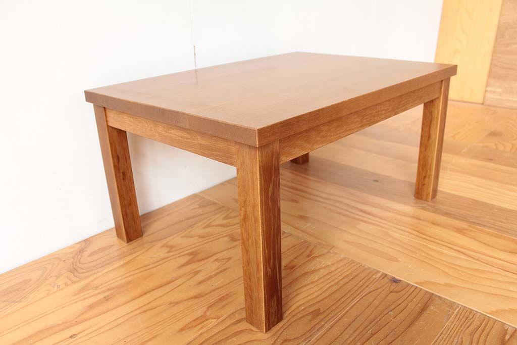 幕板構造で安定感抜群のリメイク後の座卓
