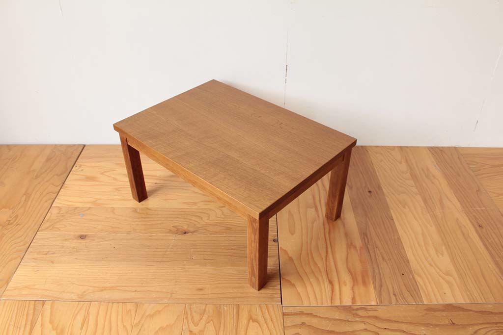 学習机を飽きの来ないデザインでリメイクした座卓