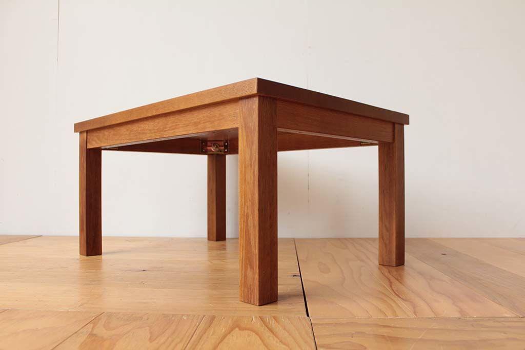 学習机を脚が取り外せるタイプの座卓にリメイク
