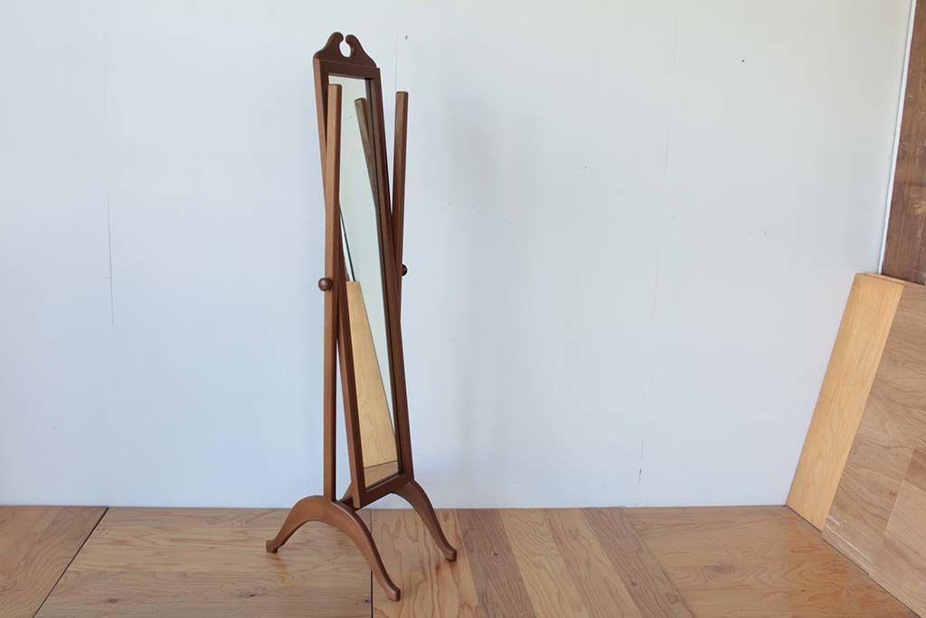 婚礼家具クローゼットの鏡から姿見アンティーク調シュバルミラー角度調整