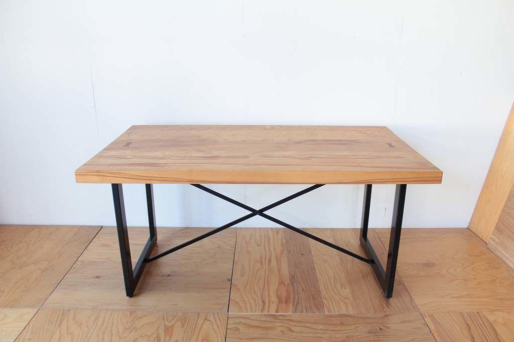 ダイニングテーブルの高さをリサイズリメイク