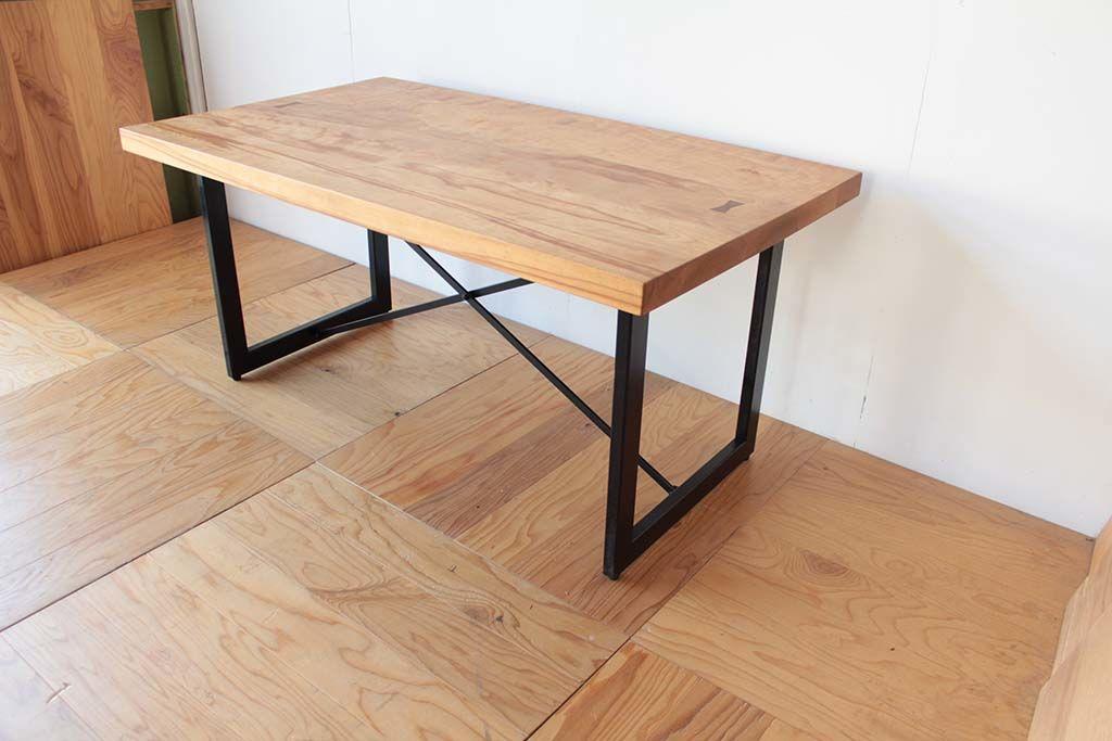 ダイニングテーブルの高さを700にリサイズリメイク