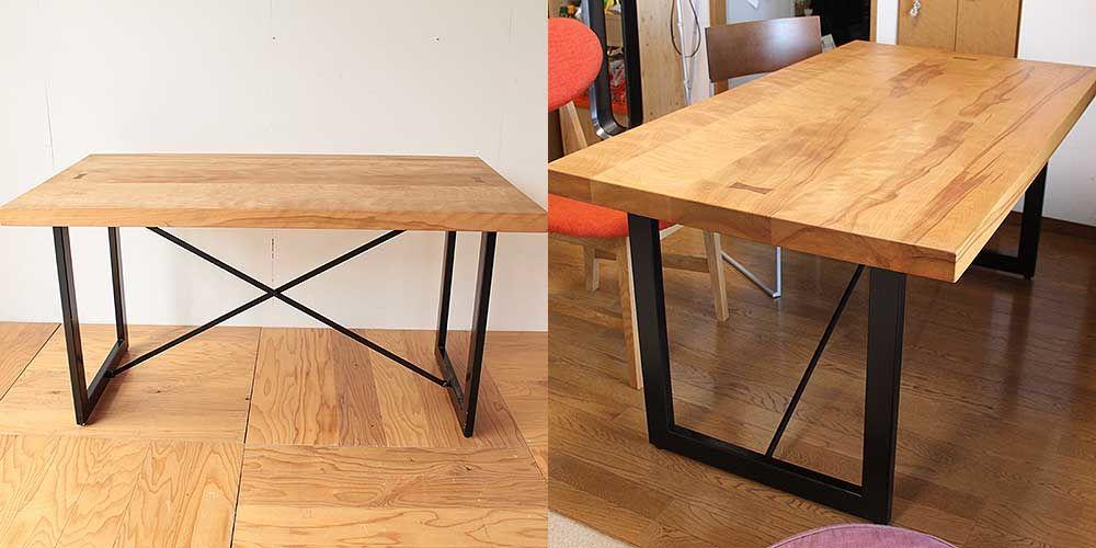 ダイニングテーブル高さを低くリサイズリメイク 家具リメイク事例:R260 Before&after