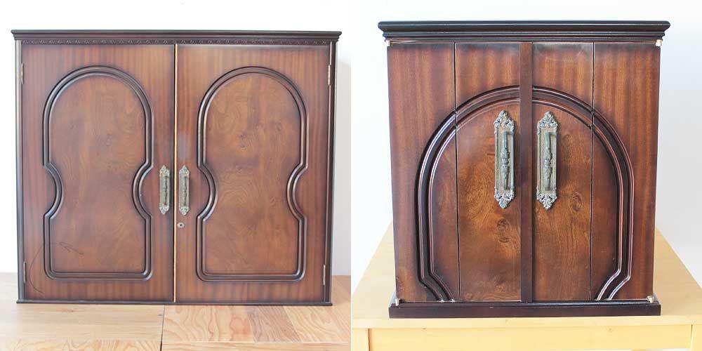 婚礼家具の和タンスをお仏壇に 家具リメイク事例:R269 Before & After