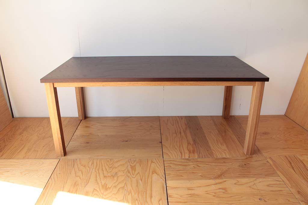 洋服箪笥からリメイクダイニングテーブル全体