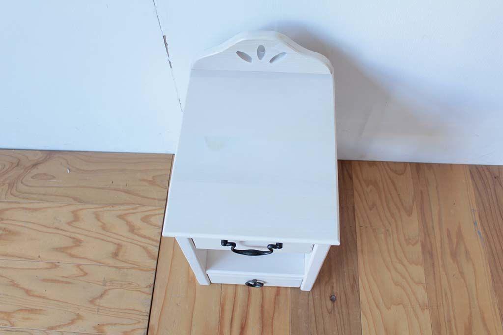 学習机を小引き出しにリメイク天板