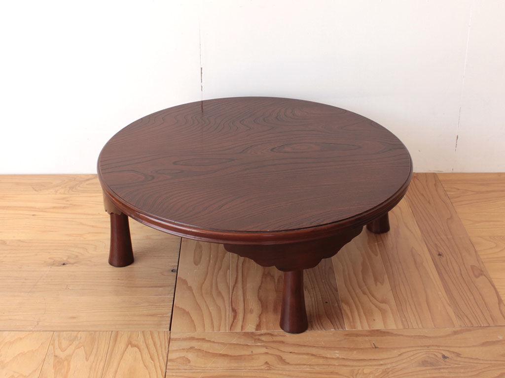 お仏壇を置く台にリメイクしたいとご相談いただいたちゃぶ台