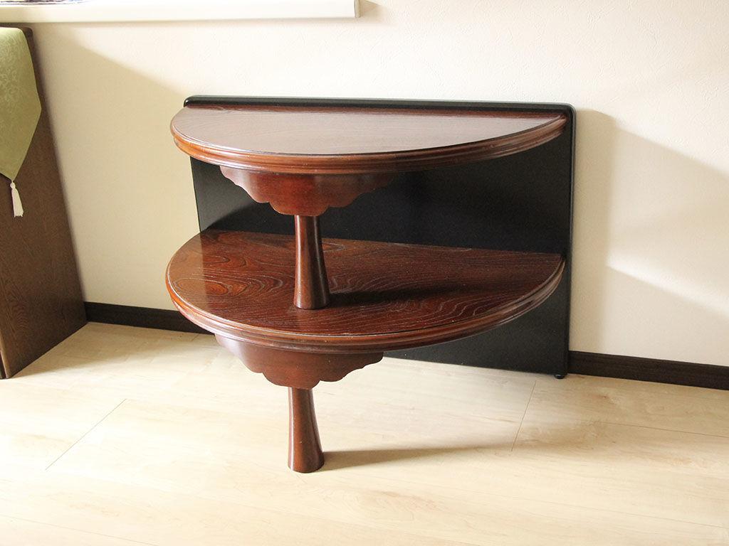 納品させていただいたちゃぶ台をリメイクしたお仏壇台