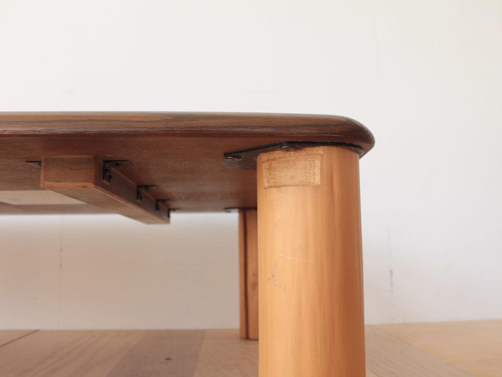 リメイクのご依頼をいただいた座卓の天板裏面