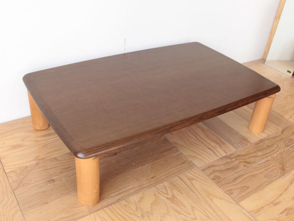 円形テーブルにしたいとリメイクのご相談をいただいた座卓