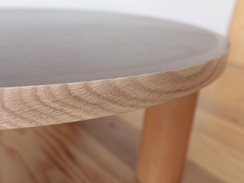リメイクした座卓の側面