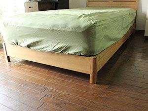 ベッドの高さを10cm低くリメイク アイキャッチ