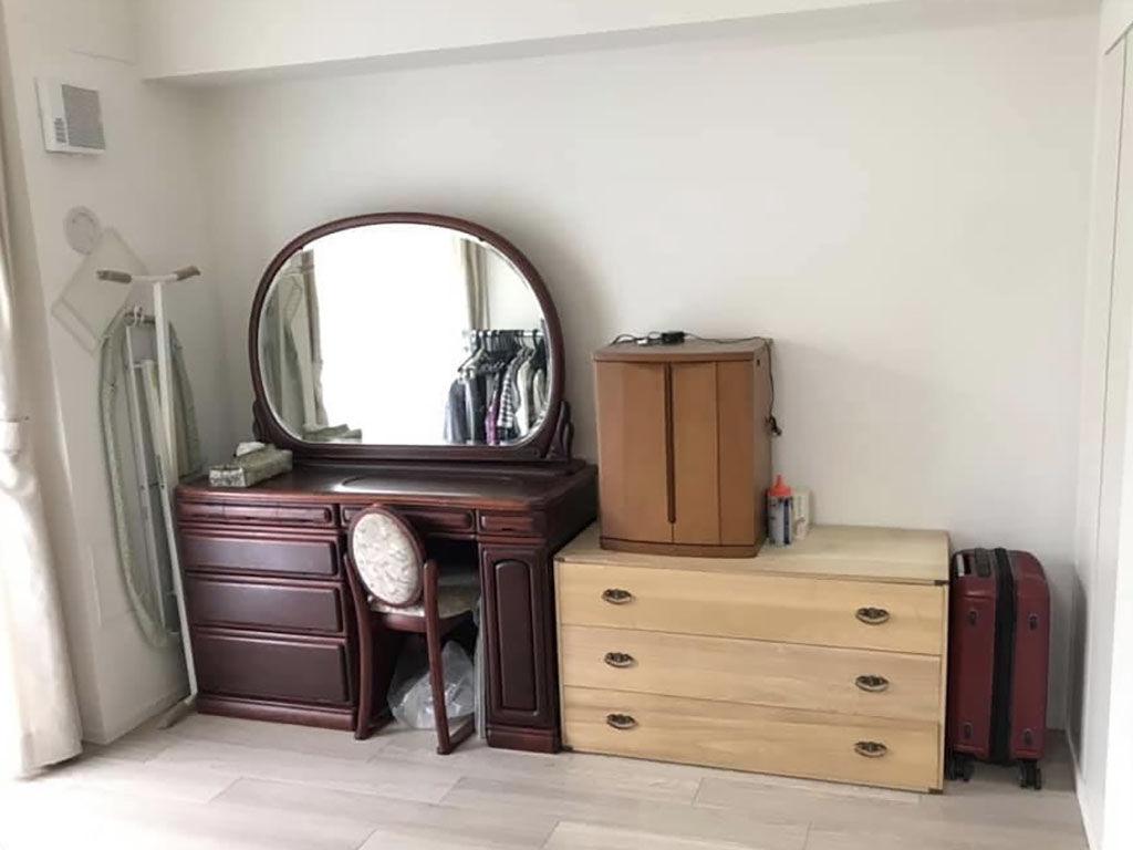 リメイクした家具を設置する予定のお部屋
