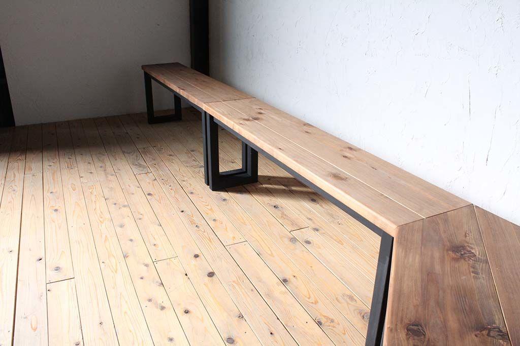 3ユニット壁面テーブル
