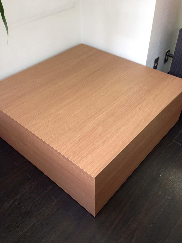 ボックス型のベンチテーブルオーダーメイド事例:M020