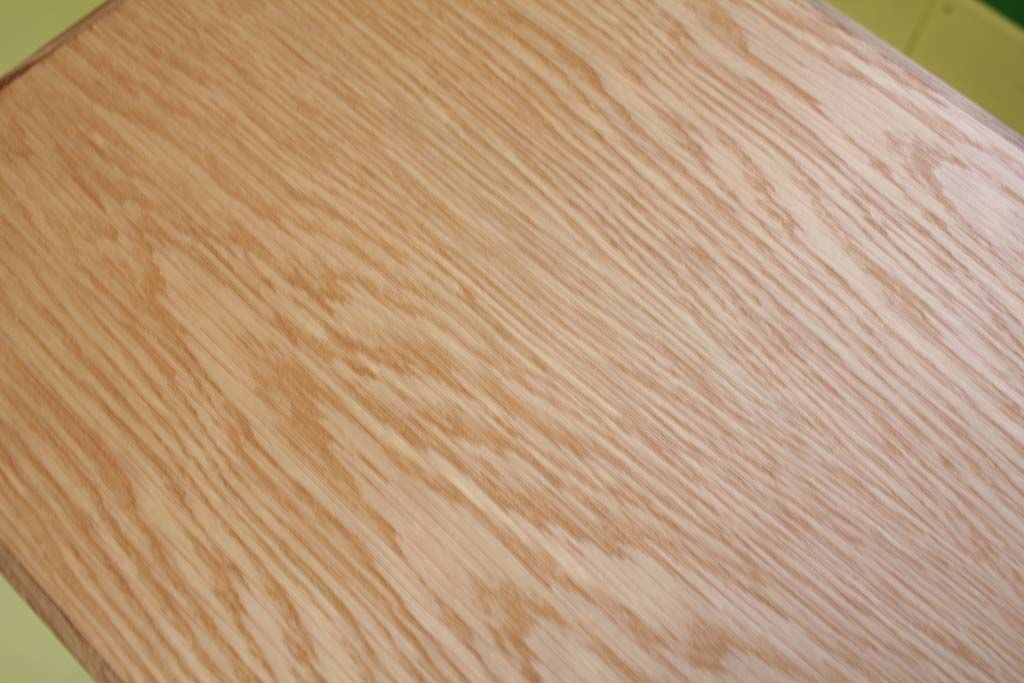 オーク材ナチュラルオイル仕上げ天板テーブル