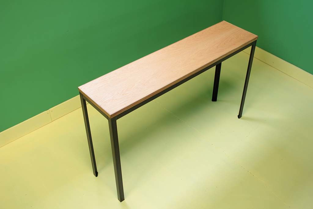細身サイズのオーダーFJテーブルオーダーメイド事例:M050