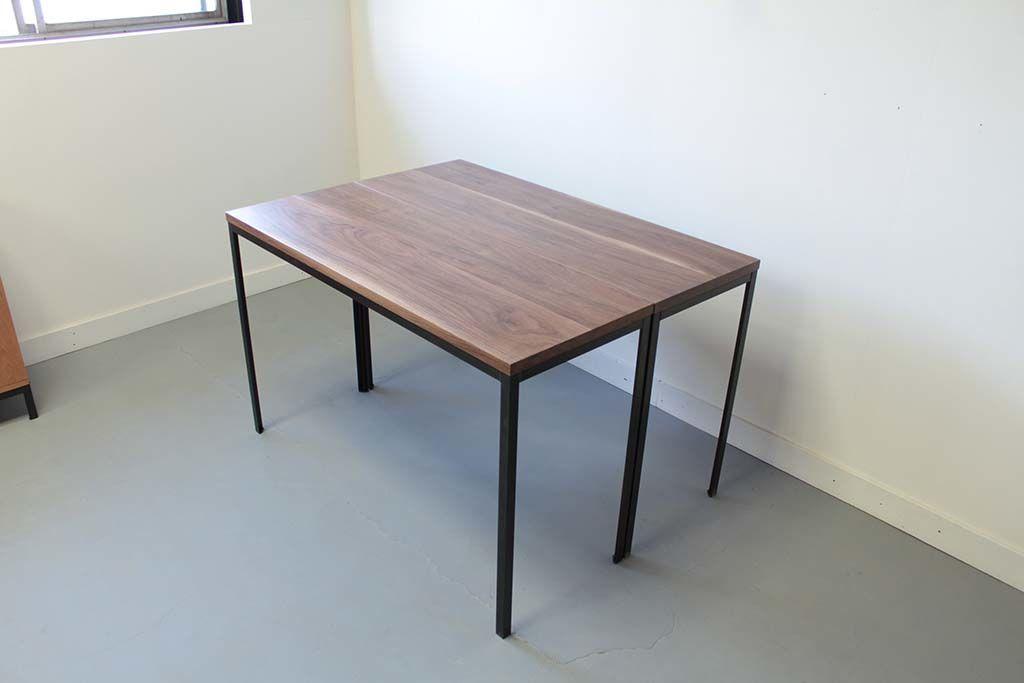 無垢ウォールナットテーブル組み合わせ例