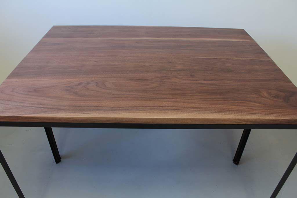 無垢ウォールナットダイニングテーブル2台組み合わせ例
