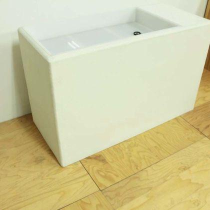モルタル仕上げの水苔スタンド 家具オーダーメイド事例:M077